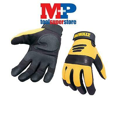 DEWALT PERFORM2 DPG21L Synthetic Padded Leather Palm Work Gloves