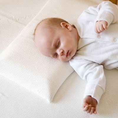 Clevamama Clevafoam Baby Pillow - Flat Head Syndrome - Support Head & Neck