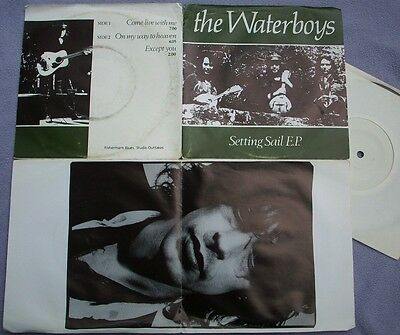 WATERBOYS Setting Sail EP Fisherman's Blues Studio Outtakes MIKE SCOTT