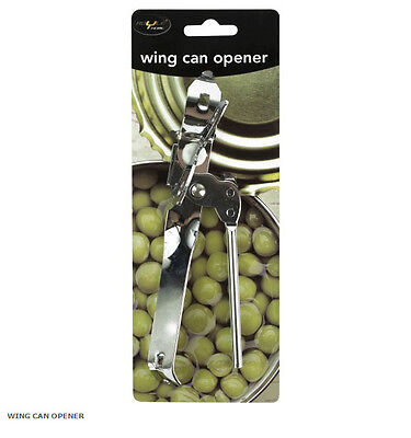 Heavy Duty Stainless Steel Wing Can Tin Jar Opener For Your Kitchen Food Camping