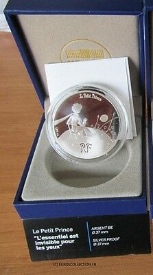 Extraordinary! 10 € Euro Silver Proof St Exupery Little Prince 2/3 Complete Pack