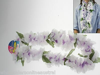 144 x Hawaiian deluxe flower lei party bulk wholesale lot