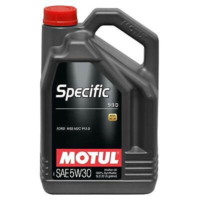 Motul Ford/Jaguar/Mazda Specific 913D 5W30 Fully Synthetic Engine Oil - 5 Litres