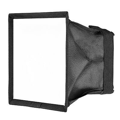 "Neewer 5.9"" x 6.7"" Camera Collapsible Diffuser Mini Softbox for CN-160 LED Flash"