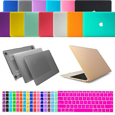 Matte Snap-On Hard Case Keyboard Cover MacBook Air Pro Retina 11/12/13/15 inch