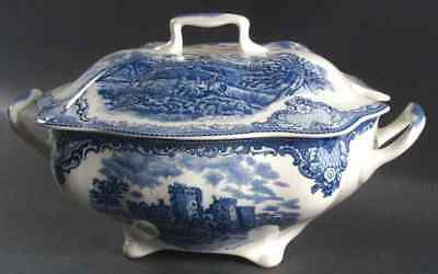 Johnson Bros OLD BRITAIN CASTLES BLUE Rectangular Tureen (Imperfect) 7660807