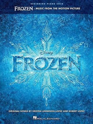 Disney's Frozen Soundtrack - Beginning Piano Solo Book *NEW* Sheet Music,
