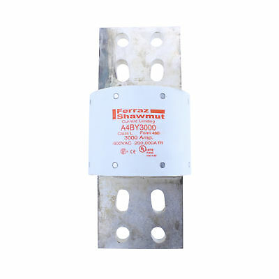 Ferraz Shawmut A4By3000 3000 Amp 600V Class L Amp-Trap Current Limiting Fuse
