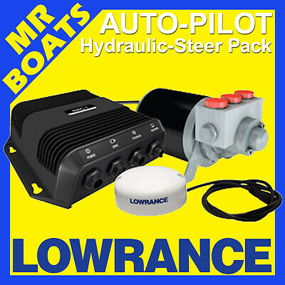 LOWRANCE HYDRAULIC STEER * OUTBOARD AUTOPILOT * KIT PACK 4 HDS Models Auto Pilot