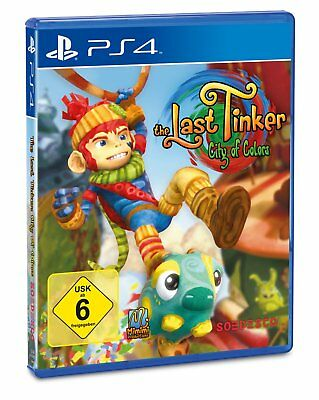 The Last Tinker - City of Colors     PS4    Playstation 4   !!!!! NEU +OVP !!!!!