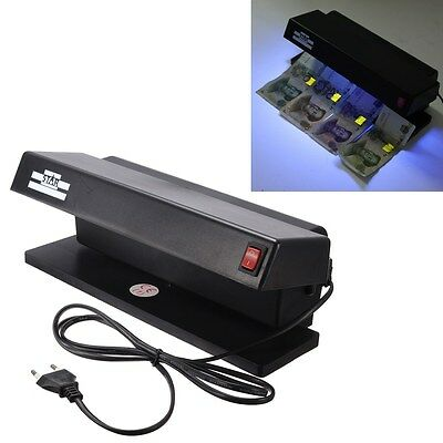 Business UV  LED Counterfeit Fake BankNote Forgery Money Detector Tester Scanner