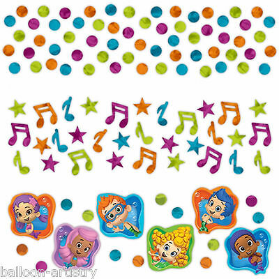 Bubble Guppies Children's Birthday Party Confetti Table Sprinkles Triple Pack