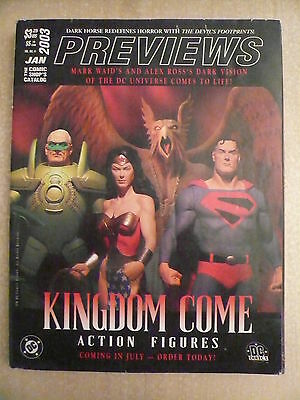 PREVIEWS the comic shop's catalog UK Volume XIII n° 1 janvier 2003