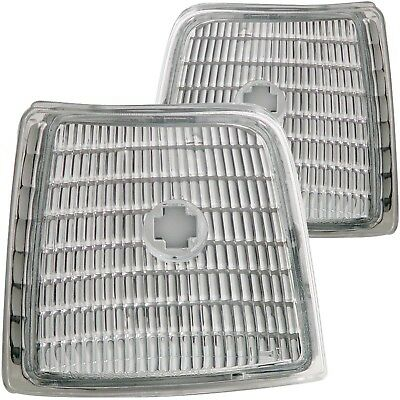Set of Pair Euro Clear Corner Lights for 1992-1996 Ford F150/250/350 Bronco