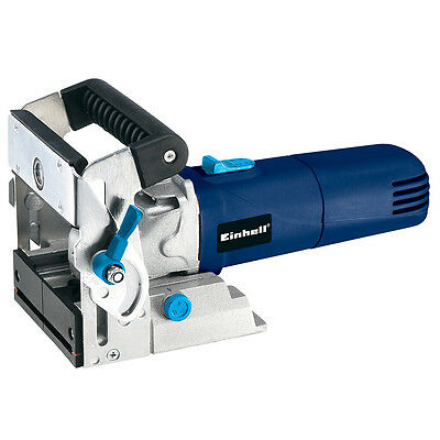 Einhell Biscuit Jointer 900W 240V Slot Cutting Router Worktops Joints BT-BJ900