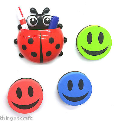 Drywipe Board Pen White Board Pen Tidy Ladybird Marker Pen