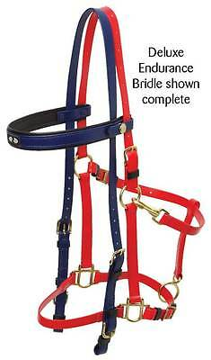 Zilco Deluxe Bridle and Halter with Brass fittings