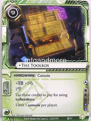 Android Netrunner LCG 1x Trick of Light  #033 System Crash Corporation Draft