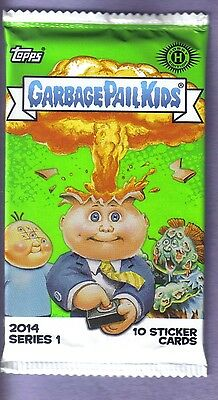2014 Garbage Pail Kids Series 1 Hobby Pack