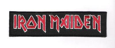 patch embroidered / écusson thermocollant Iron Maiden