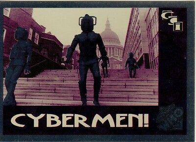 Dr Doctor Who Cornerstone Series 2 Foil Chase #4 - Cybermen