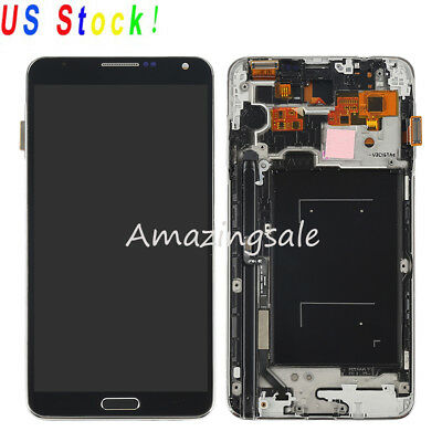 Replacement LCD Screen Touch Digitizer+Frame For Samsung Galaxy Note 3 N900A USA