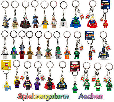 LEGO Schlüsselanhänger Key Chain Lord of the Rings Harry Potter Super Heroes NEU