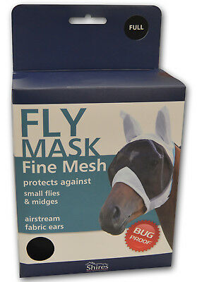 Shires Equestrian Horse Riding Fine Mesh Lightweight Fly Protection Veil