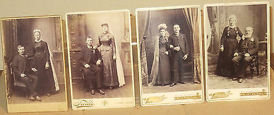 ( 4 ) WEDDING PHOTOS ~ VINTAGE CLOTHING ~ TURN OF THE CENTURY ~ IN IOWA
