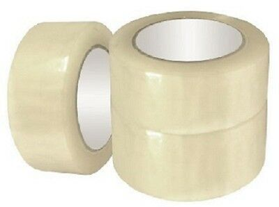 "36 Rolls Clear Shipping TAPE Packing Sealing package 2"" wide 110 yards  330' 1.7"