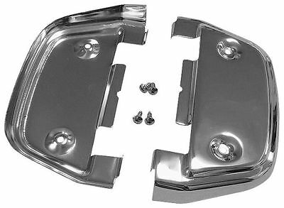 Bikers Choice - 72979 - Undercovers for Passenger Floorboards, Chrome~