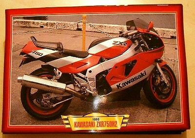 Kawasaki Zxr750H2 1990 Zxr750 H2 Classic Motorcycle Bike 1990's Picture