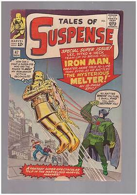 Tales of Suspense # 47  The Mysterious Melter ! grade 4.0 scarce hot book !!