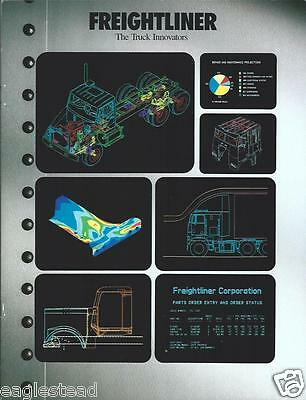 Truck Brochure - Freightliner - The Innovators Company Overview 1987 (T1036)