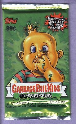 2003 Garbage Pail Kids All New Series 1 ANS 1 Unopened Sticker Pack Gold