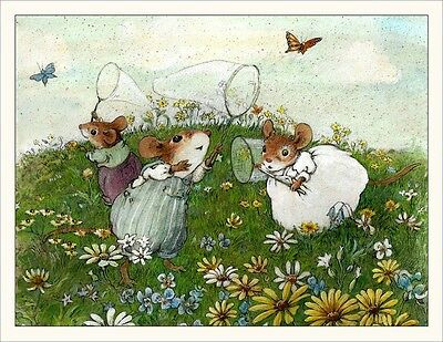 Wee Forest Folk Note#14 - Butterflies Note Cards Set of 6