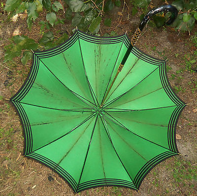 Antique Edwardian Umbrella Or Sunshade Victorian