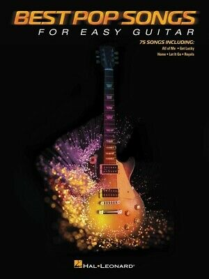 BEST POP SONGS For Easy Guitar Book *NEW* Sheet Music, 75 Songs