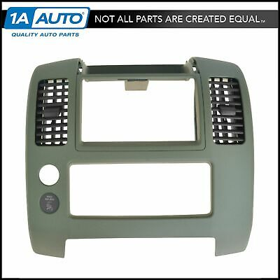 OEM Front Center Dash Mounted Desert Trim Panel with Vents for NIssan Frontier