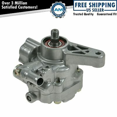 Replacement Power Steering Pump 56100PLA033 for 01-02 Honda Civic 1.7L SOHC