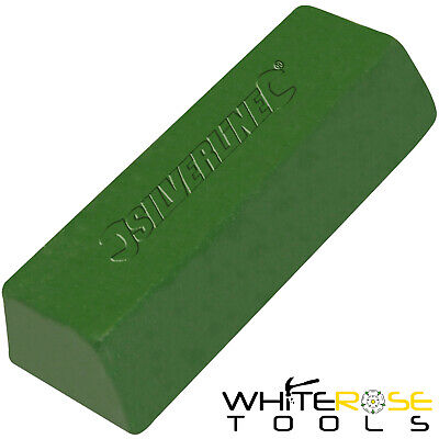 Silverline 107889 500g Green Polishing Compound Buffing Soft Hard Metal