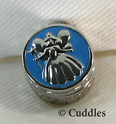 Tooth Fairy Box Wings Wand Boy Ganz Metal Blue Enamel Lost Tooth Child New S