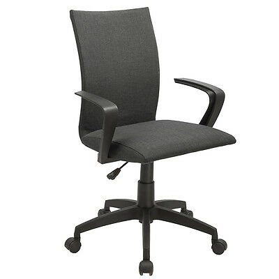 New Black Ergonomic Desk Task Office Chair Midback Home Computer Chair