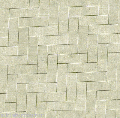 Dolls House Floor Panel Flooring Wallpaper Satin or Matte Card 1/12 - 1/24 #24