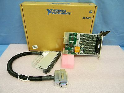 NEW National Instruments PXI-2567 64-Ch. Ext. Relay Driver Module w/Cable