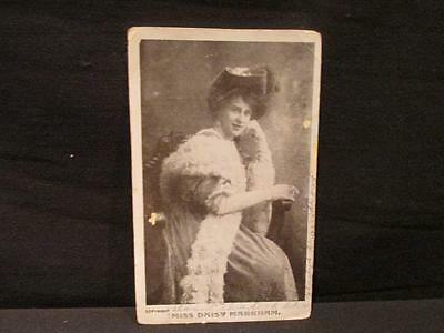 Miss Daisy Markham Early 1900s B&W Postcard Marquess of Northampton Suit Actress