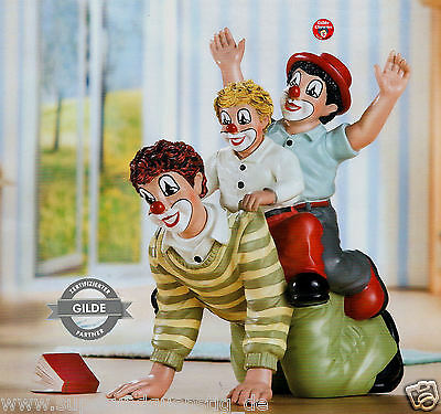 Gilde Clowns Clown - Der doppelte Reiter - limitierte Sonderedition NEU 10198