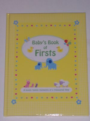 Baby's Book Of Firsts - Baby Record Book