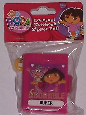 Dora The Explorer Zipper Pull With Notebook - Super