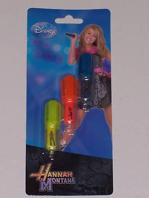 Hannah Montana Pack Of 3 Mini Highlighters